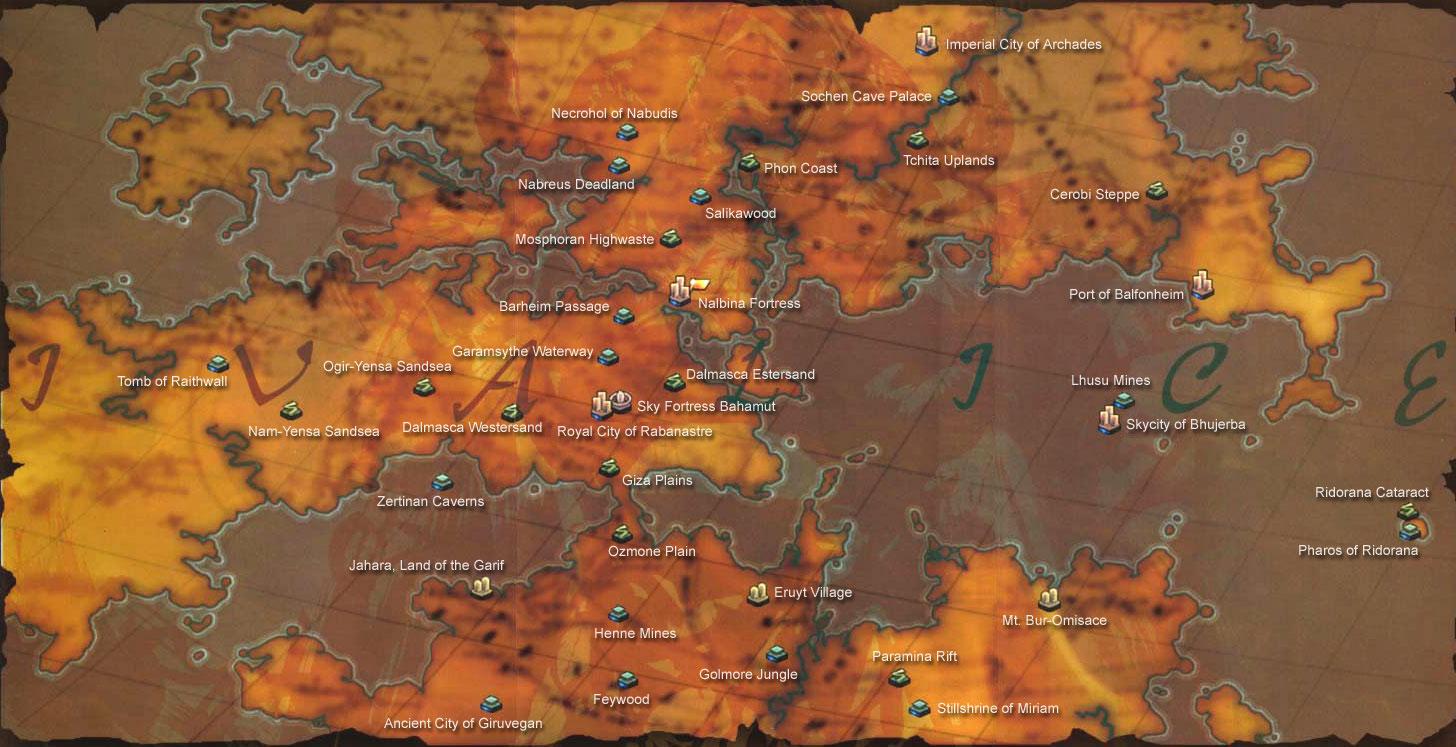 Maps | FFXII Sector | The Zodiac Age